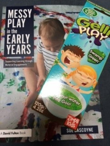 Messy Play in the Early Years - Supporting Learning through Materials Engagements with FREE Gelli Play