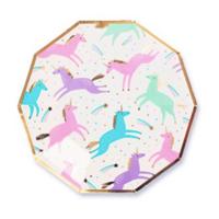 Magical Unicorn Plates- Small