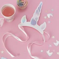 Iridescent Foiled Unicorn Horns