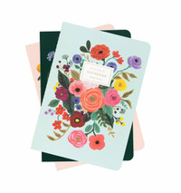 Garden Party Notebooks- Set of 3