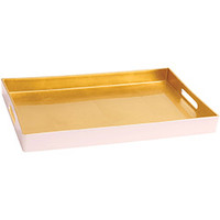 Blush and Gold Tray