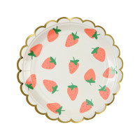 Strawberry Plates- Small