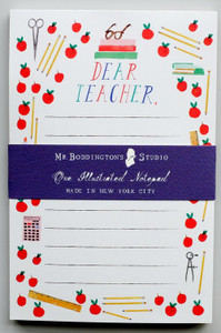 Dear Teacher Notepad