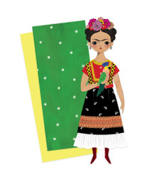 Frida Mailable Paper Doll