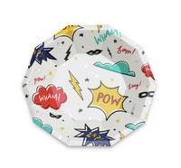 Super Hero Plates- Small