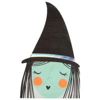 Spooky Witch Halloween Napkins