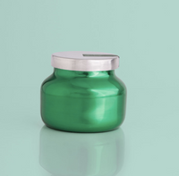 Volcano Metallic Green Petite Jar Candle- 8oz