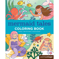 Mermaid Tales Coloring Book