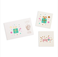 Merry + Bright Temporary Tattoos
