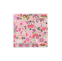 Love Notes Napkins- Large