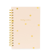 Pink Imperfect Dot 2019 Spiral Planner- Small