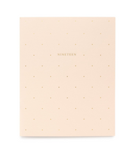 Pink Swiss Dot 2019 Monthly Planner