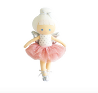 Stella Baby Christmas Fairy- Blush and Silver 25cm