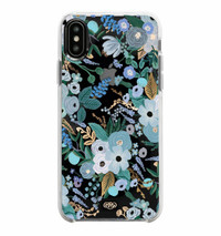 Garden Party Blue Iphone XR Case