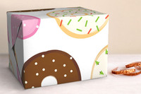 Donut Open Til Christmas Wrapping Sheets