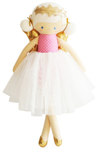Willow Fairy Doll 48cm Pink Star