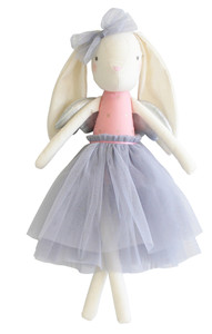 Angel Bunny Silver 50cm