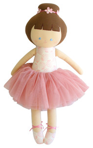 Big Ballerina 50cm Strawberry Ivory