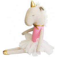 Yvette Unicorn Doll 43cm Pink Star