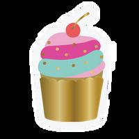 Cupcake Die Cut Napkins
