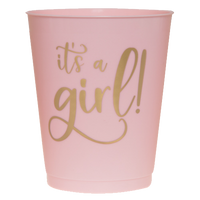 Its a Girl Party Cups- 16oz