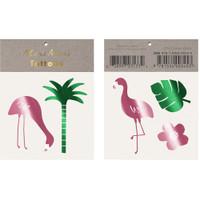 Tropical Flamingo Tattoos