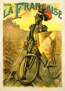 La Francaise Knight Poster