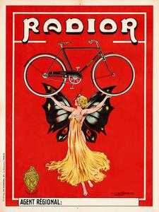 Radior Vintage Bicycle Poster