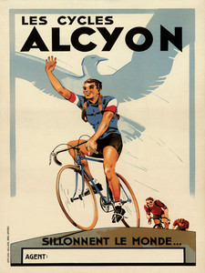 Les Cycles Alcyon Poster
