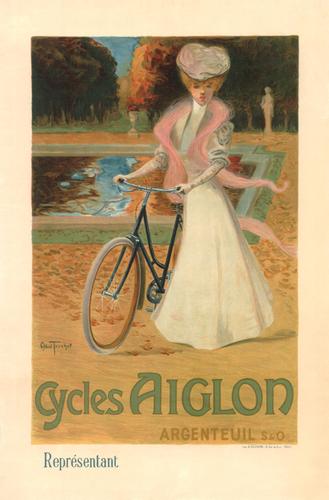 Cycles Aiglon Poster