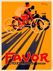 Favor Cycles & Motos Poster