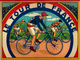 Tour de France Board Game Print  from a 1930's poster