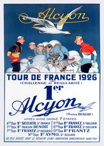 Alcyon Tour de France 1926 Poster Print