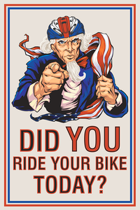 Did You Ride Your Bike Today ?
