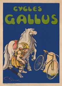 Cycles Gallus Vintage Bicycle Poster Print