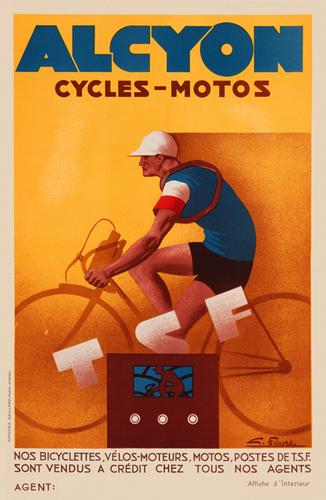 Alcyon Cycles-Motos Poster