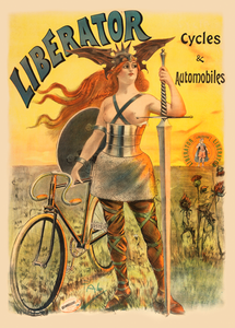 Liberator Cycles Poster