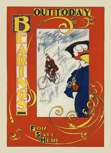 Bearings - Riding in the Rain Poster