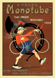 Cycles Monotube Poster