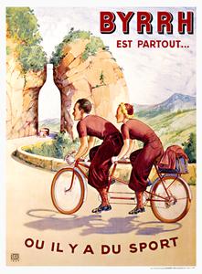 BYRRH Tandem Poster