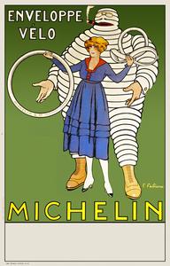 Envelope Velo Michelin Poster