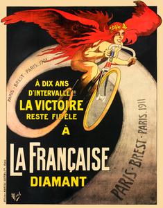 La Francaise Paris-Brest-Paris Poster