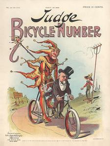 Judge Magazine March 28, 1896 Poster