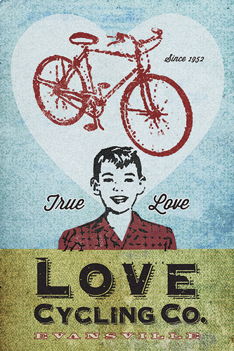Love Cycling Company by John Evans