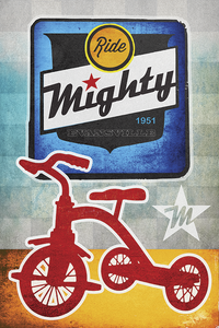 Mighty Bicycles by John Evans