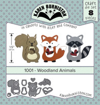 Woodland Animals Die Set