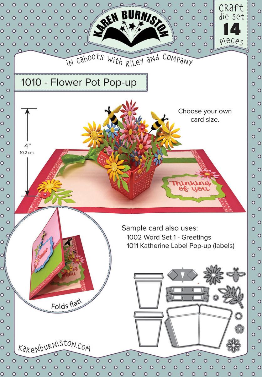 See 5 more pictures  sc 1 st  Karen Burniston & Flower Pot Pop-Up Die Set - KB Riley LLC