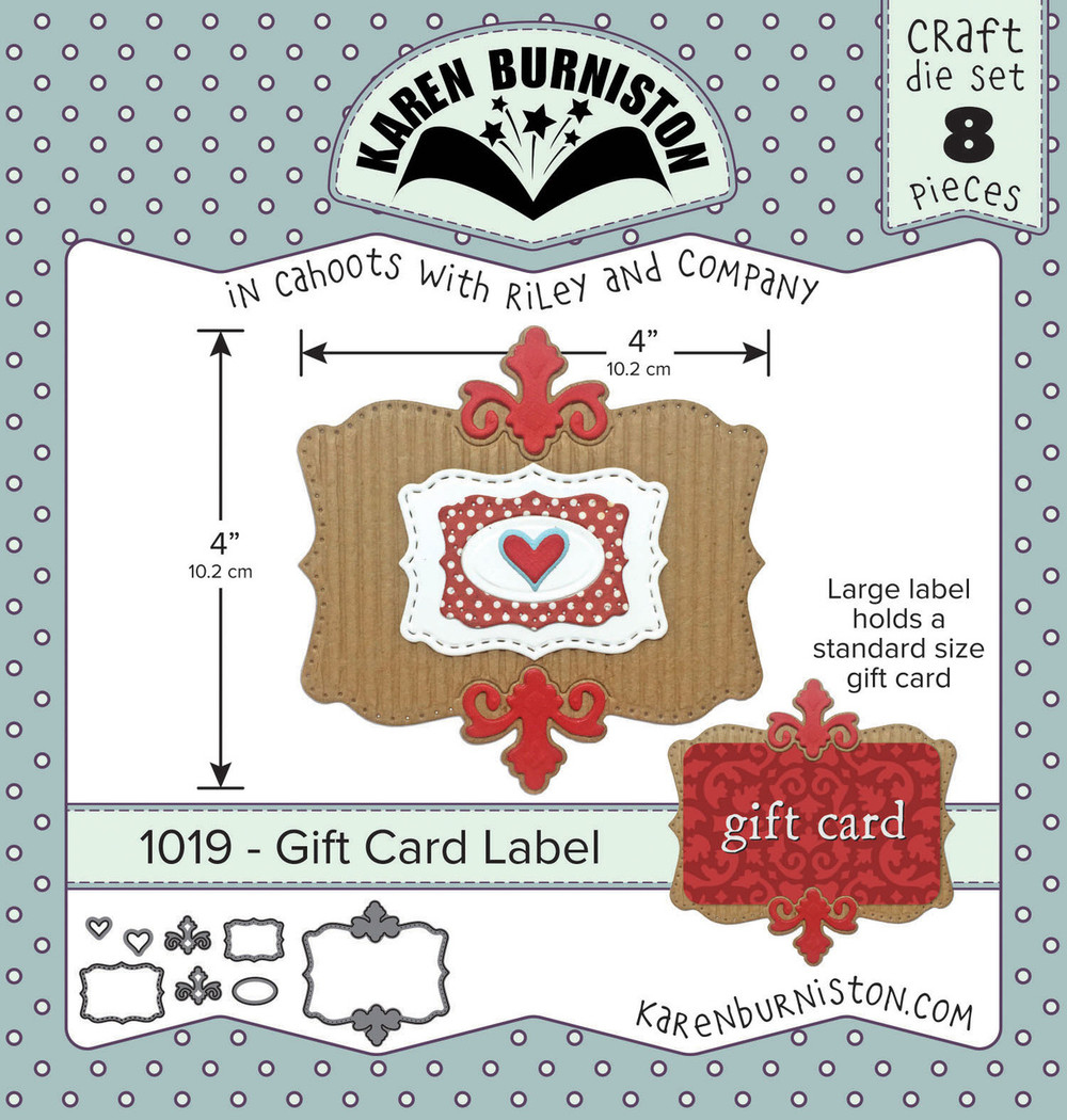 Gift Card Label Kb Riley Llc