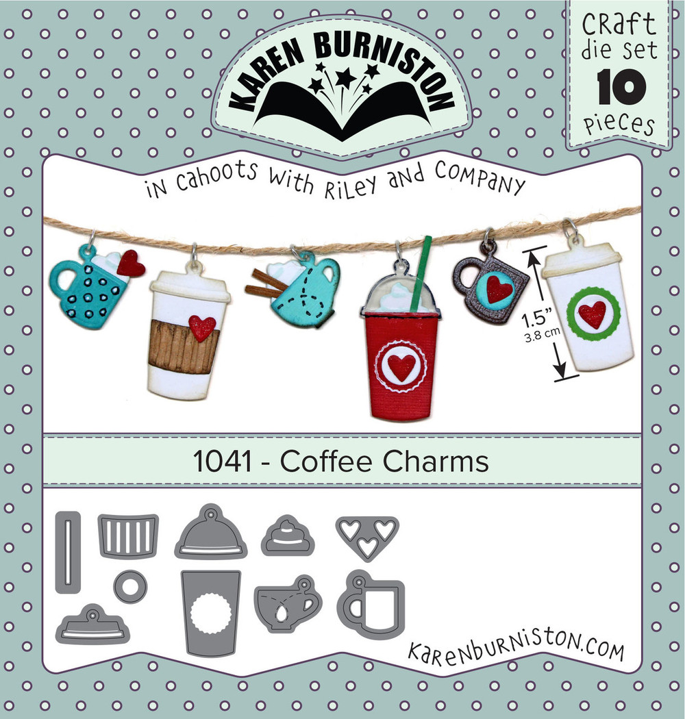 Coffee Charms set