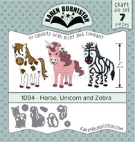 Horse, Unicorn and Zebra
